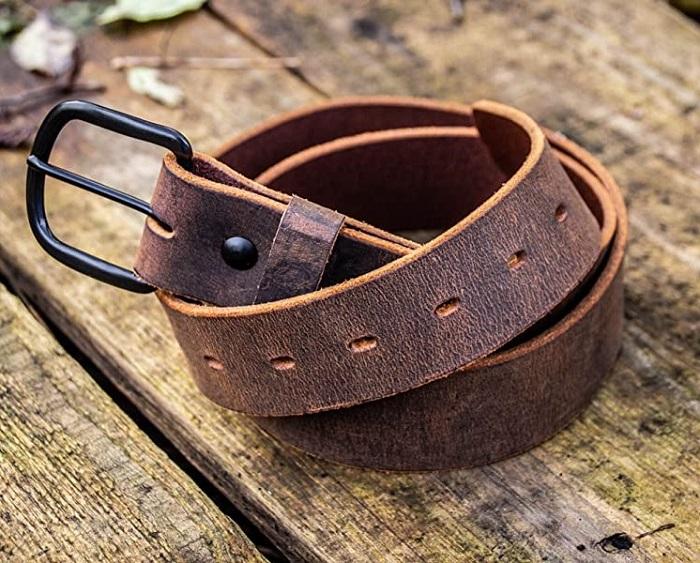 The Bootlegger Full Grain Leather Belt