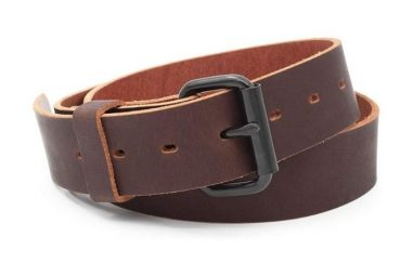 The Classic Leather Everyday Belt – Made in USA