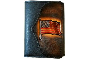 American Flag Wallet by Hilltop Leather Company