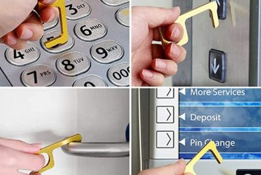 No Contact Key Touchless Tool Keychain